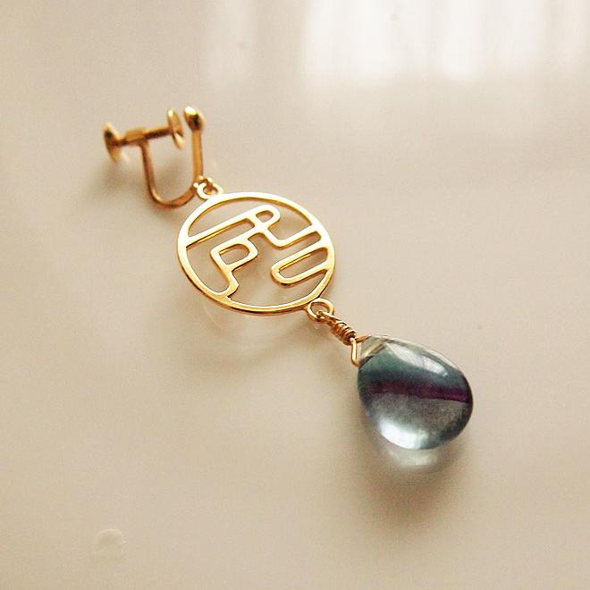 Designer earring - exclusive and original design・オリジナルデザインイヤリング(ピアスも可)