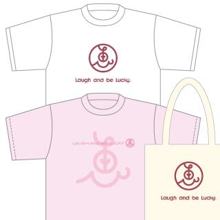 狩野恵里さん用Tシャツ2枚&トートバッグデザイン