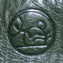 Leather Embossing・レザーに刻印