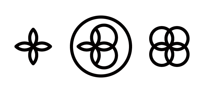 four-leaf clover logo・四つ葉ロゴ