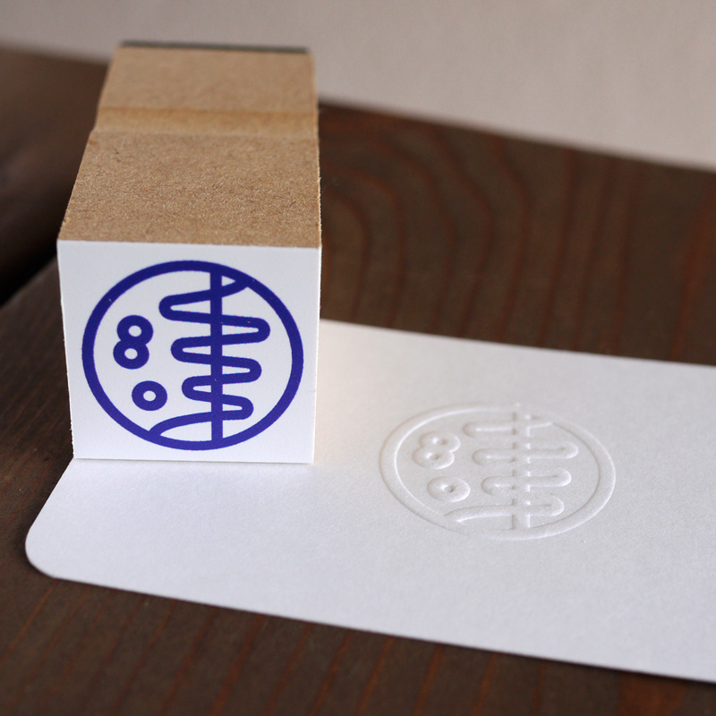 Custom Rubber Stamp & Embossing Seal・オリジナルゴム印&エンボッサー