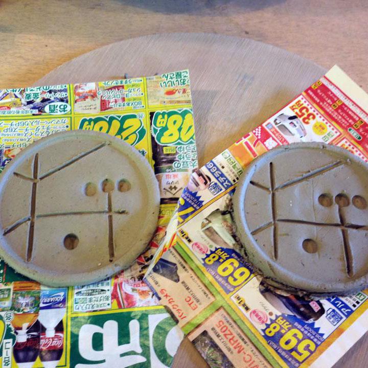 handmade pottery plates