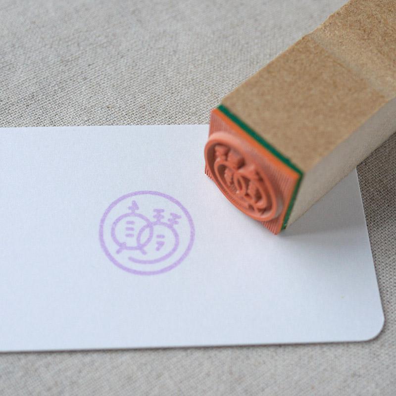 Custom Rubber Stamp・オリジナルゴムスタンプ