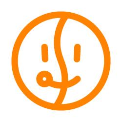 Upside Down logo makes Smile・逆さにするとスマイルマーク