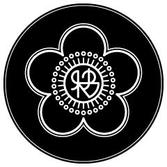 梅の家紋と合体