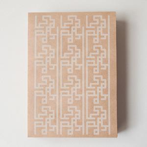 レトロ印刷の便箋