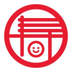 年賀状フリー素材2014_nico 寿紋(にこちゃん)